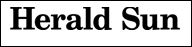 Herald Sun banner